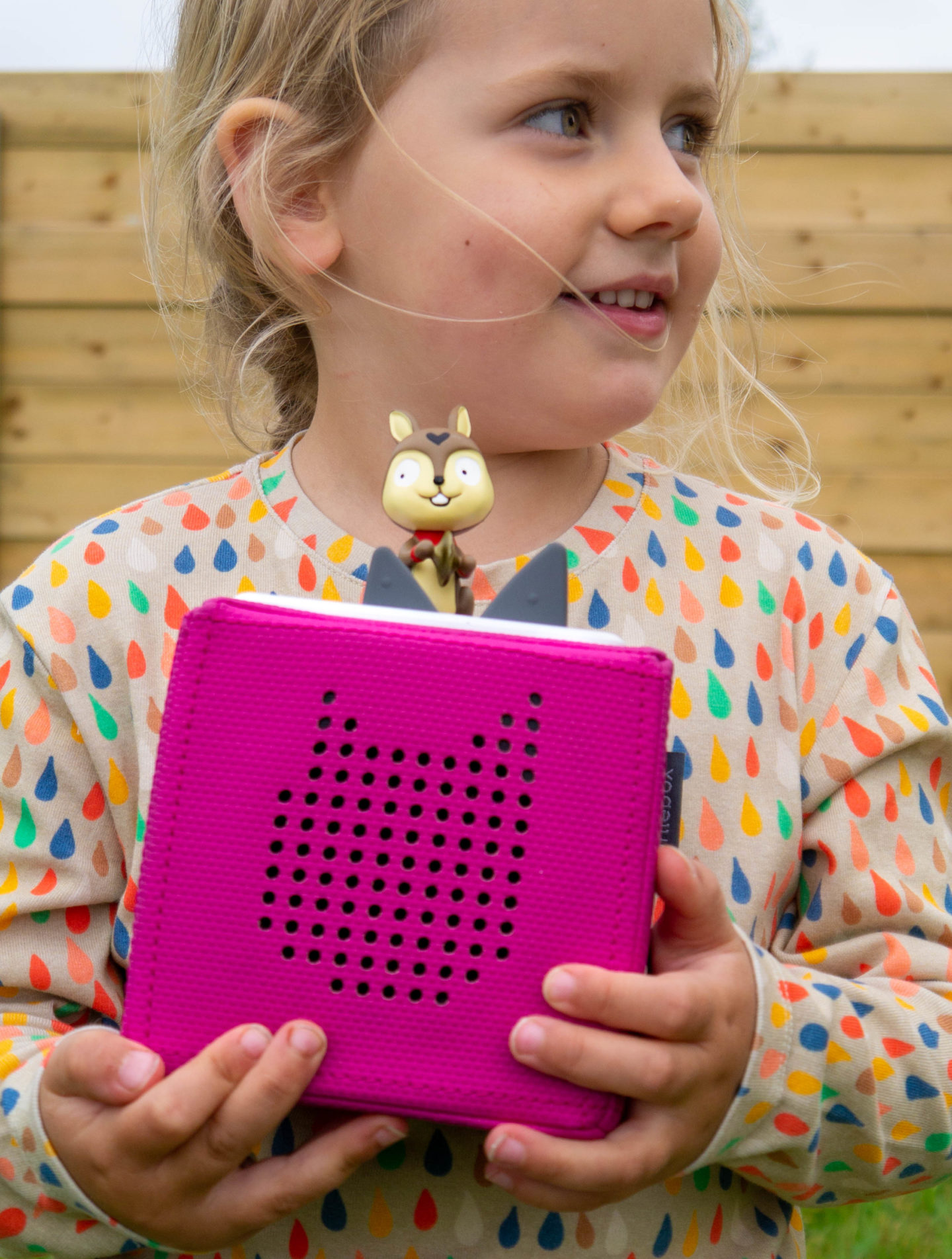 The Toniebox is a great gadget for children.