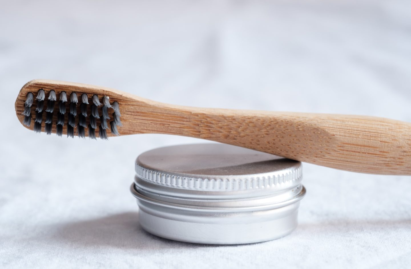 Using a bamboo toothbrush is an easy plastic free swap for kids and adults.