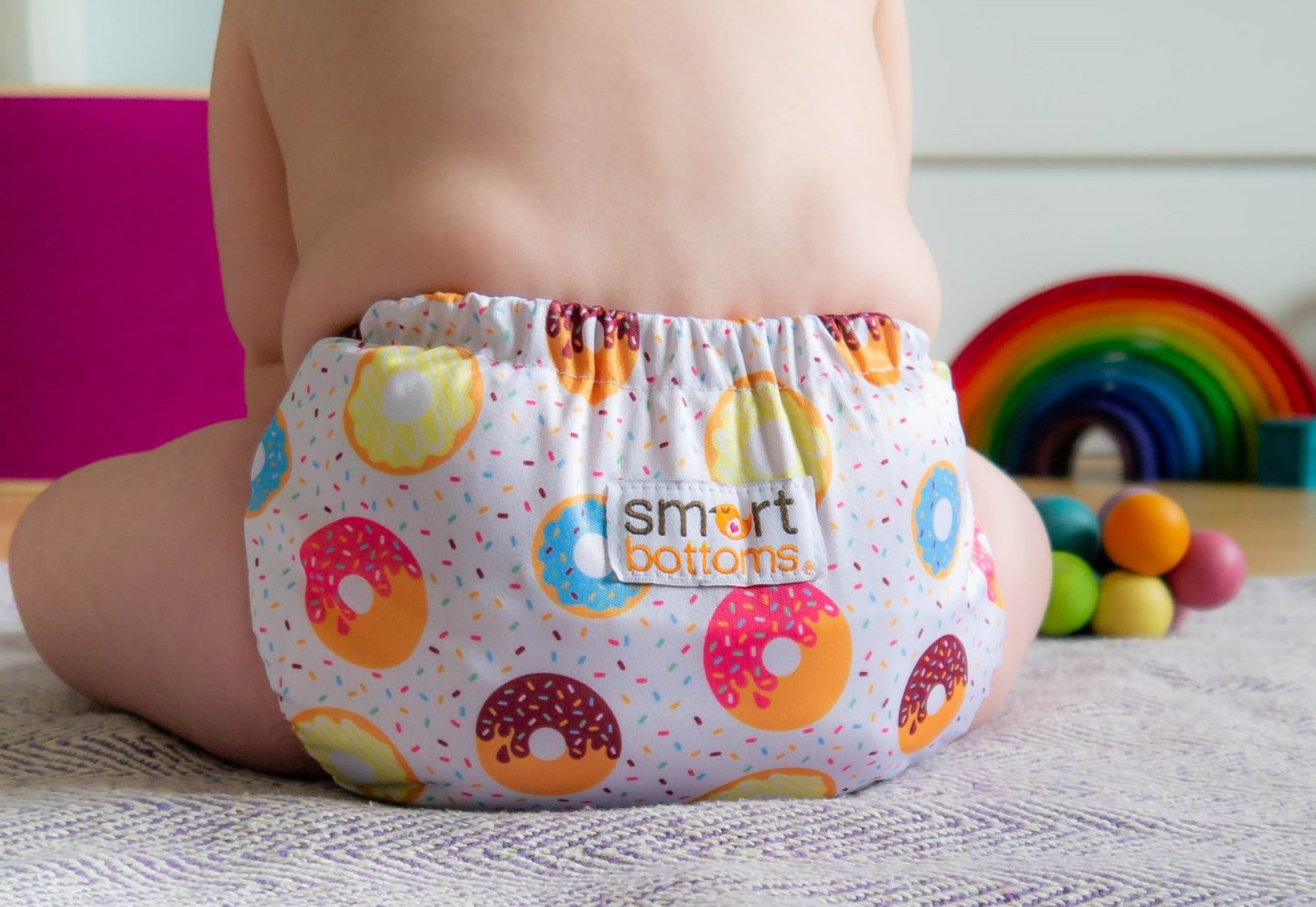 Cloth nappies are a great way to start a zero waste lifestyle.