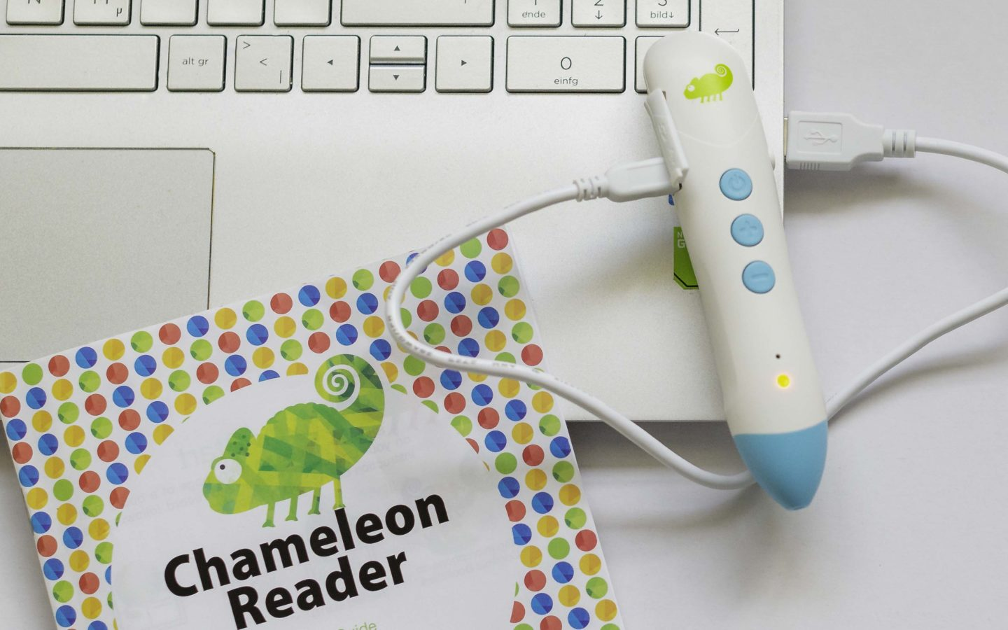 Chameleon Reader Review: Easy to use music and audiobooks for kids.