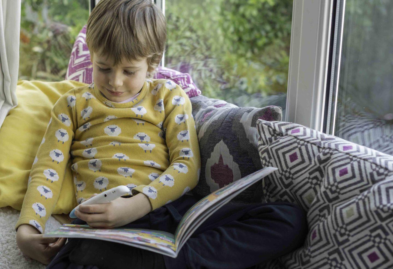 Audiobooks for kids with Chameleon Reader