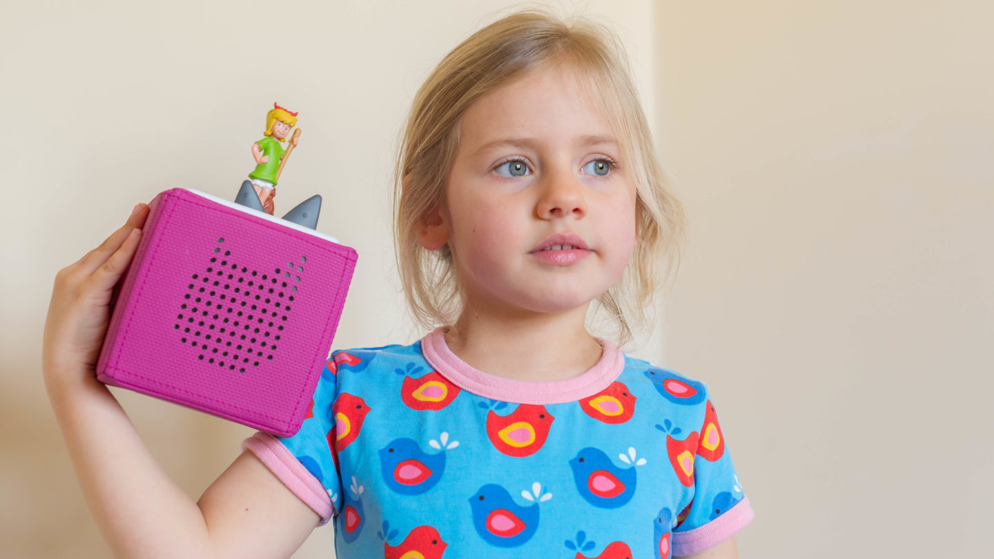 Toniebox Languages the audio player for bilingual kids