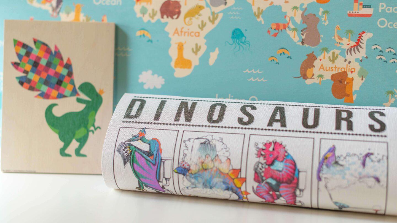 Posterlounge Dinosaur Wallart